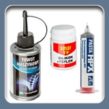 Lubricants, pastes and oil