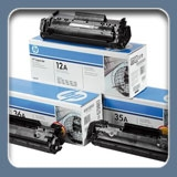 Original HP LaserJet cartridges