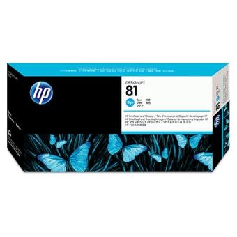 Печатающая головка HP № 81 cyan (Original)