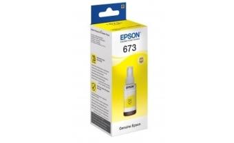 Контейнер с чернилами Epson C13T67344A №673 Yellow Original