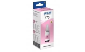 Контейнер с чернилами Epson C13T67364A №673 Light Magenta Original