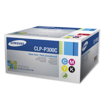 Набор картриджей Samsung CLP-P300C (түпнұсқа)