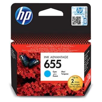 Ink Cartridge HP 655 cyan (Original)