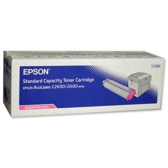 Toner Cartridge Epson C2600 Magenta Original 2K