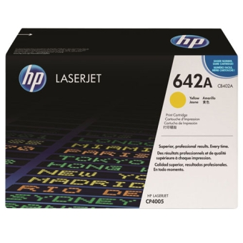 Print Cartridge HP 642A yellow (Original)