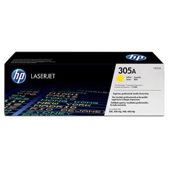 Print Cartridge HP 305A yellow (Original)