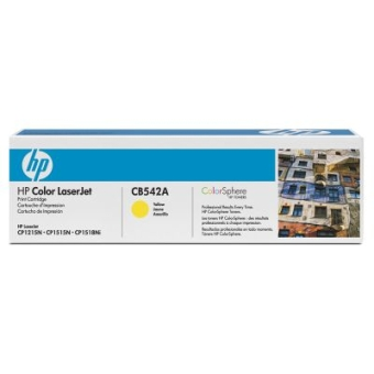 Картридж HP CB542A yellow (original)