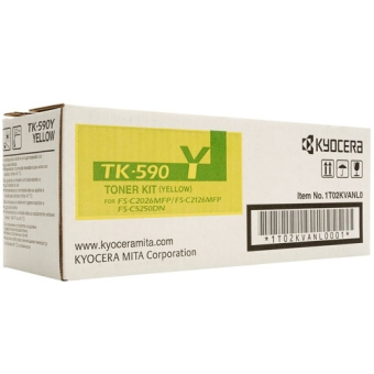 Тонер-картридж Kyocera TK-590Y yellow