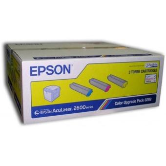 Набор тонер-картриджей Epson C2600 (CMY) Original