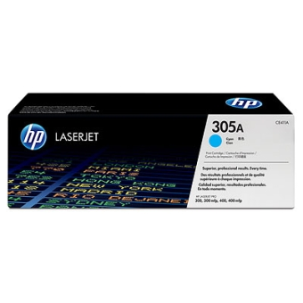 Print Cartridge HP 305A cyan (Original)