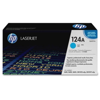 Картридж HP 124A cyan (Original) Q6001A