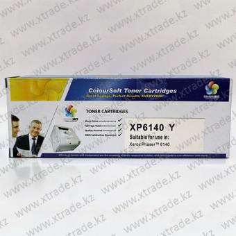 Toner Cartridge Xerox Phaser 6140 yellow