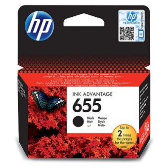 Картридж HP № 655 black (Original)
