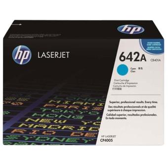 Print Cartridge HP 642A cyan (Original)