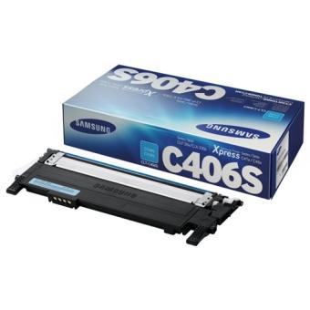 Картридж Samsung CLT-C406S cyan (Original)