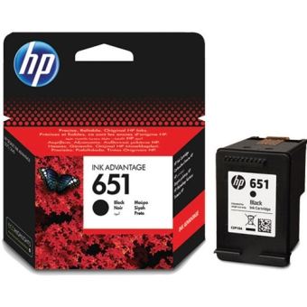 Картридж HP № 651 black (Original)