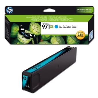 Ink Cartridge HP 971XL CN626AE cyan