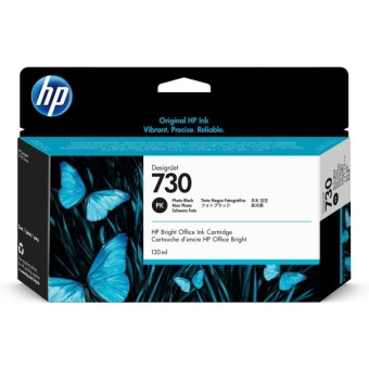 Картридж HP P2V67A № 730 Photo Black 130 ml (Original)