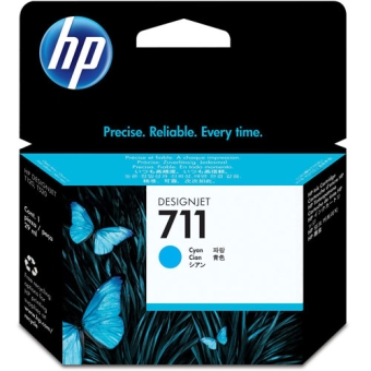 Ink Cartridge HP 711 Cyan (Original)