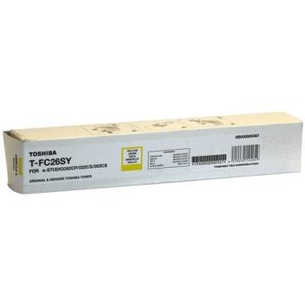 Toner Cartridge Toshiba T-FC26SY yellow for E-Studio 262CP