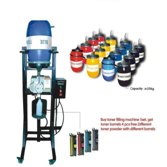No Cleaning Color Toner Filling Machine