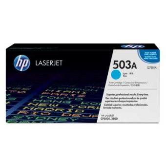 Print Cartridge HP 503A cyan (Original)