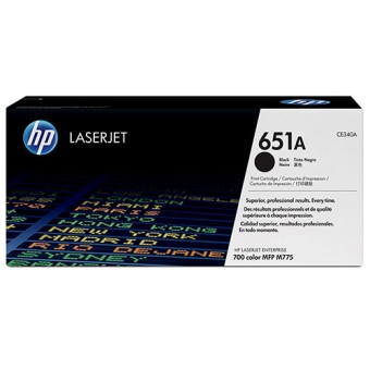 Print Cartridge HP 651A black (Original)