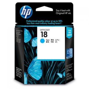 Inkjet Cartridge HP 18 cyan (Original)