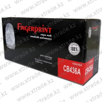 Картридж HP CB436A Fingerprint