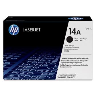 Print Cartridge HP 14A black (Original)