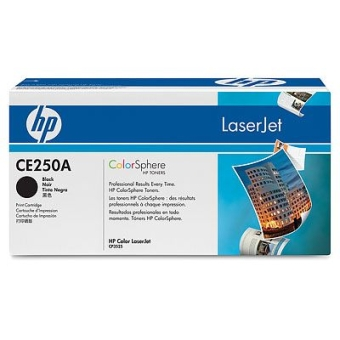 Картридж HP CE250A black (Original)