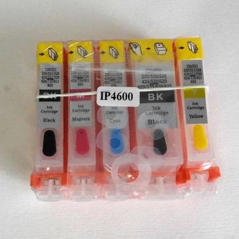 Перезаправляемые картриджи PGI-520BK-CLI-521BK/C/M/Y