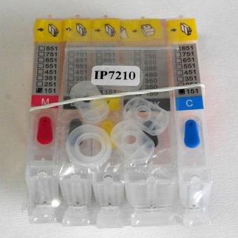 Перезаправляемые картриджи PGI-150PGBK-CLI-151BK/C/M/Y