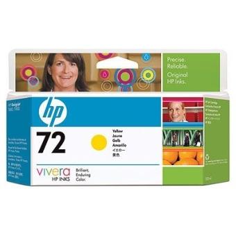 Картридж HP № 72 Yellow (Original)