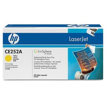 Картридж HP CE252A yellow (Original)
