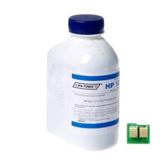 Тонер HP CLJ CP1215 Cyan IPM