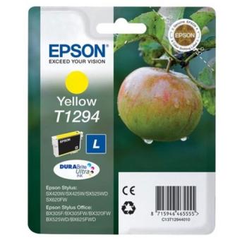 Картридж Epson T1294 yellow C13T12944010 (Original)