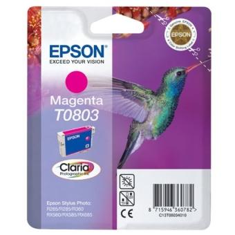 Картридж Epson T0803 magenta C13T08034010 (Original)