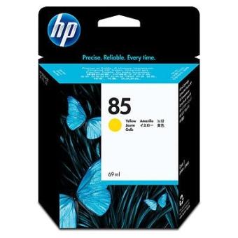 Inkjet Cartridge HP 85 yellow (Original)