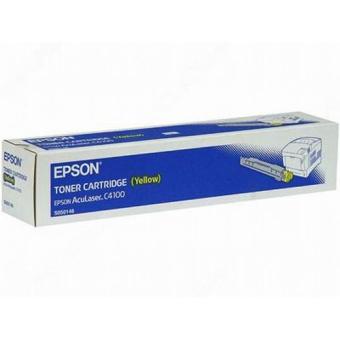 Тонер-картридж Epson C4100 Yellow Original