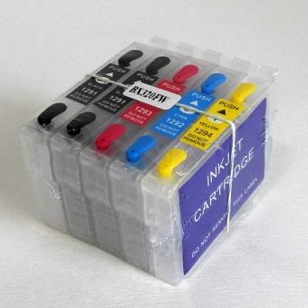Refillable Inkjet Cartridges T1291-T1294
