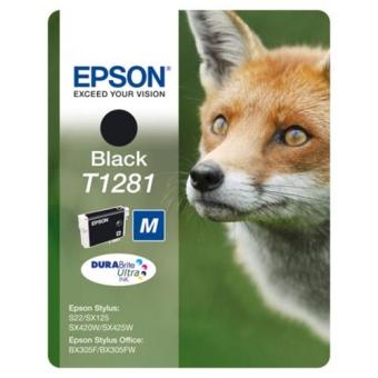Картридж Epson T1281 black C13T12814010 (Original)