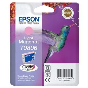 Картридж Epson T0806 light magenta C13T08064010 (Original)