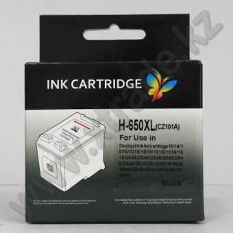 Ink Cartridge HP 650 black