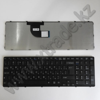 Клавиатура для ноутбука Sony SVE15/ SVE17черная