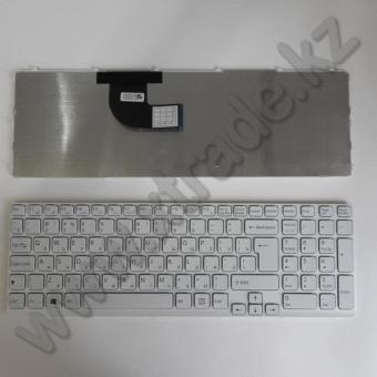 Клавиатура для ноутбука Sony SVE15/ SVE17 белая