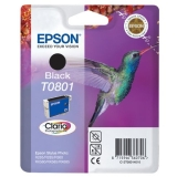 Ink Cartridge Epson T0801 black C13T08014010 (Original)