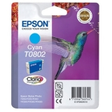 Картридж Epson T0802 cyan C13T08024010 (Original)