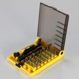 45pcs screwdriver set disassemble repair tools