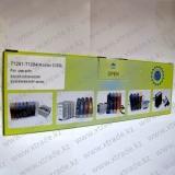 СНПЧ Epson T1281-T1284 (4-color) с чернилами